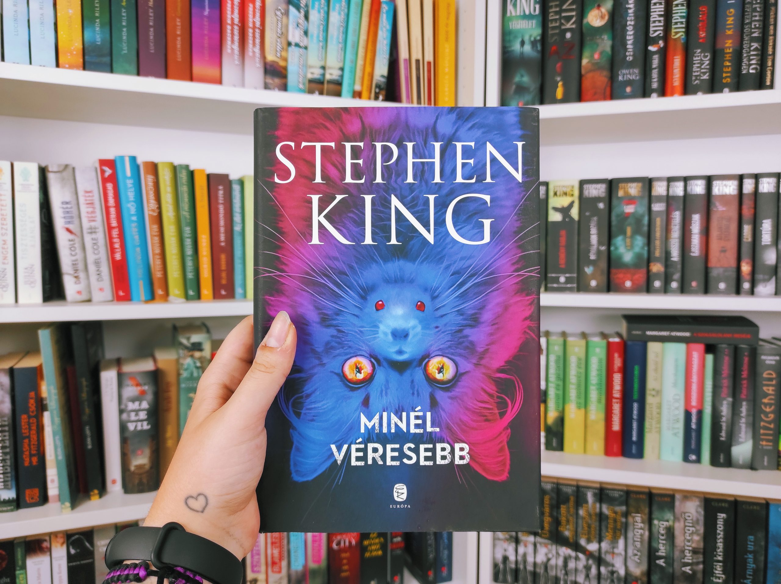Stephen King: Minél véresebb • Tekla blogol